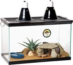zilla desert reptile terrarium starter kit with light and heat 10