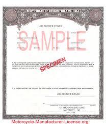 manufacturer certificate of origin template michigan secretary of