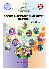 dcves annual accomplishment report 2016 by 21st century teacher