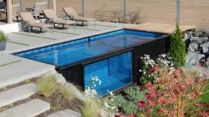 modpools turns shipping containers into amazing swimming pools