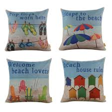 Home Decor Throw Pillows by Online Get Cheap Coastal Throw Pillows Aliexpress Com Alibaba Group