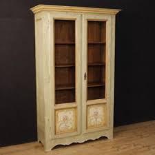 credenza antica ebay vetrina laccata mobile libreria italiana credenza in legno dipinto