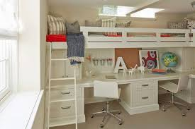 Mixing Work With Pleasure Loft Bunk Bed On Top Desk On Bottom U2013 Bunk Beds Design Home Gallery