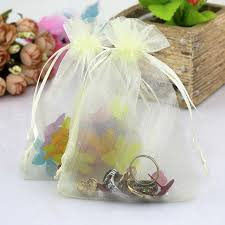 large organza bags 50pcs lot beige large organza bag 30x40cm shoes jewelry packaging