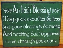 blessings home decor irish blessings weddings wedding gifts by sleepyhollowprims on zibbet