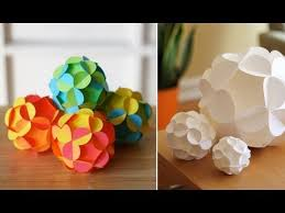pretty 3d paper ornaments paper balls 3d paper and ornaments