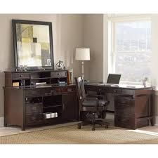 Home Office Credenza Furniture Create A Home Office In A Small Space With Credenza