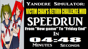 Challenge Victim Victim Chan S Return Challenge Mod Speedrun In 0 04 48