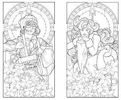 art deco coloring pages art coloring pages coloring picture animal