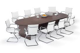 White Boardroom Table Walnut Executive Modular Boardroom Table And White Charles Eames