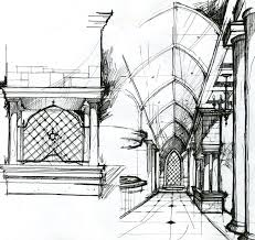 Interior Sketch by 105 Best Interior Design Sketches Images On Pinterest Art