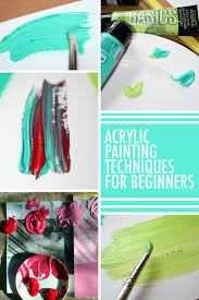 How To Wash Painted Walls by 13 Must Know Acrylic Painting Techniques For Beginners