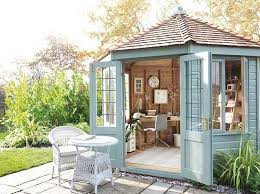 Gardens With Summer Houses - interesting garden rooms period living