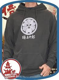 shelf life clothing u2013 samurai crest hoodie