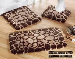 Brown Bathroom Rugs Latest Models Of Bathroom Rugs And Rug Sets International Decoration