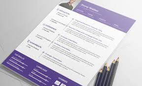 Resume Sample Hk by Free Resume Template Psd Clean And Simple Design Print Ready