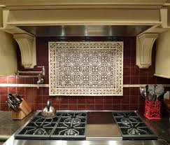 Kitchen Range Backsplash Kitchen Backsplash Design Metal Stainless Kitchen Range