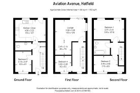 Hatfield House Floor Plan by Richard H Wells Estate Agents Particulars