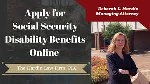 how to apply for social security disability benefits online youtube