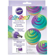 wilton color swirl decorating set
