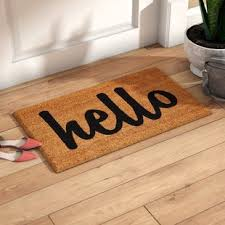 Exterior Door Mat Inside Front Door Mat Wayfair