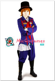 kuroshitsuji black butler drocell caines cosplay wig sales at