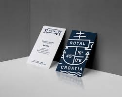 Marine Business Cards Nautical Branding Letterpress Business Card Design Fable U0026 C