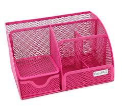 Office Desk Organizers Accessories by Amazon Com Easypag Mesh Office Desk Organizer 6 Compartments