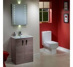 Red Bathroom Vanity Units by Swift Freestanding Bathroom Vanity Unit With Basin 600mm Montana