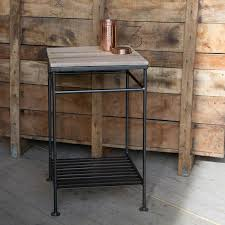 grey metal bedside table brooklyn vintage grey metal bedside with metal bedside table