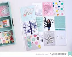 pocket pages american crafts studio winter week colorful pocket pages