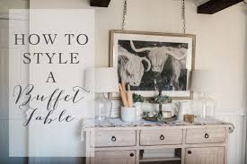 how to style a buffet table lynzy u0026 co