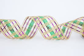 mardi gras ribbon bands of mardi gras ribbon the mardi gras collections