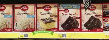 betty crocker cake mix 0 50 at dollar general simple coupon deals