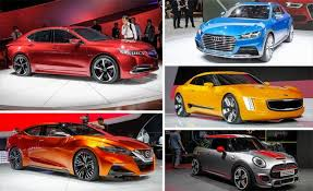 concept cars 2014 5 concept cars you ll be driving in 5 years feature car and driver