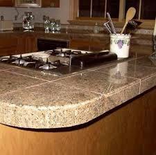 Granite Countertop Tiles Fascinating Tiling Kitchen Countertops Including Granite