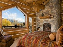 log cabin home interiors bedroom beautiful awesome cabin bedroom decorating ideas log
