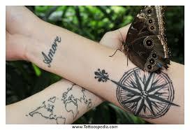 Colorado Travel Tattoos images Compass travel tattoo 5 jpg