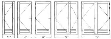 standard height of exterior door bjhryz com