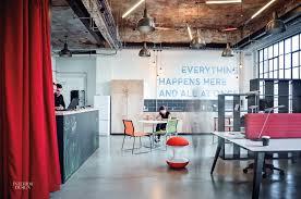 office room interior design gensler converts factory loft into office in birmingham u k
