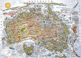 aussie map australia map
