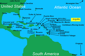 where is and tobago located on the world map where is anguilla located
