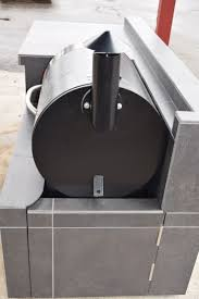 7 best pellet grilling images on pinterest outdoor kitchens outdoor kitchen for the traeger pellet grill we custom build for any grill or any
