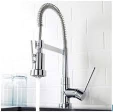 kitchen faucet industrial ooh la loft home stylish kitchen faucets from industrial to