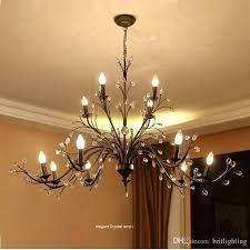 Diy Vintage Chandelier Branch Lamp Led Brake Light Retro Chandelier Lighting Edison