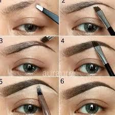 tutorial alis mata untuk wajah bulat membuat alis sendiri sesuai bentuk wajah