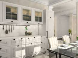 White Kitchen Cabinets With Glass Doors Small White Kitchen Cabinets With Glass Doors Zach Hooper Photo