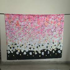 quilt wedding backdrop kate 7x5 photographic backdrop pink flower wall photo