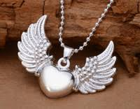 Heart Shaped Items Heart Shaped Angel Wings Necklace Price Comparison Buy Cheapest