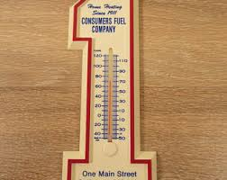 wall thermometer etsy